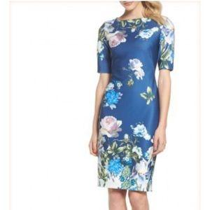 Gabby Skye Floral Sheath dress